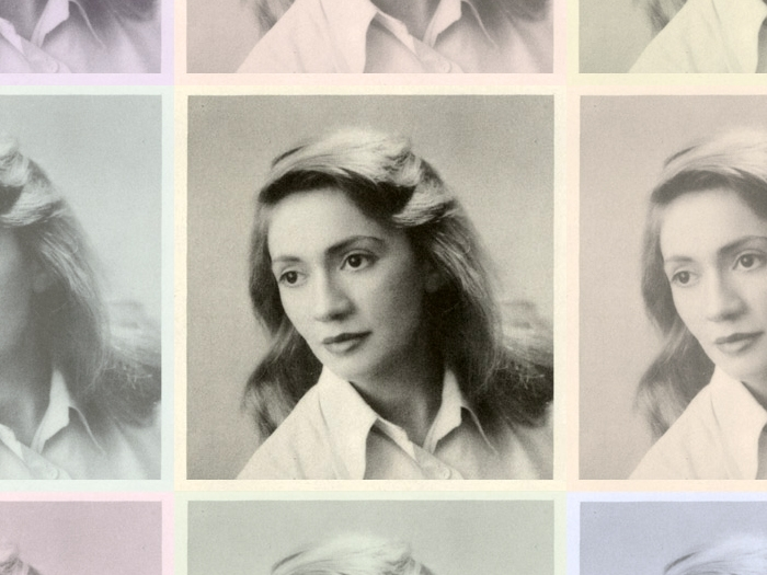 Marianne Olds in her yearbook photo