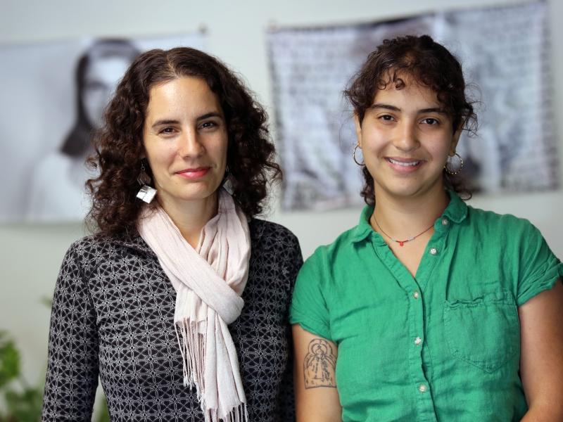 Gabriella Della Croce '11 and Andrea Schmid '17