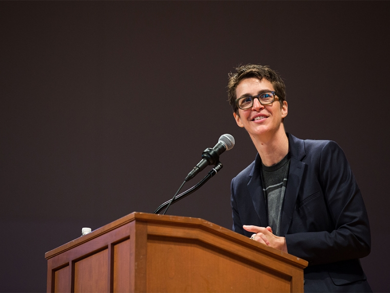 Rachel Maddow Will Speak at Smith Jan. 23 | Smith College