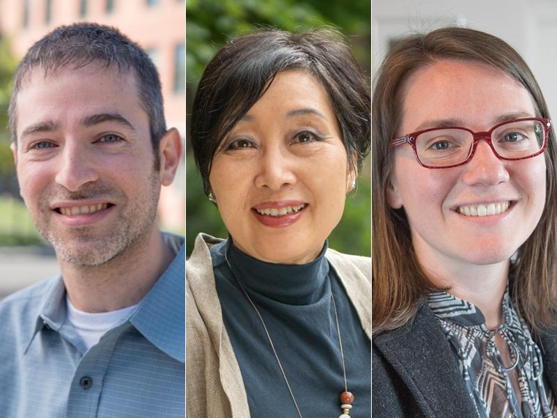 David Gorin, Suk Massey, Tina Wildhagen - Sherrerd Prize winners 2018