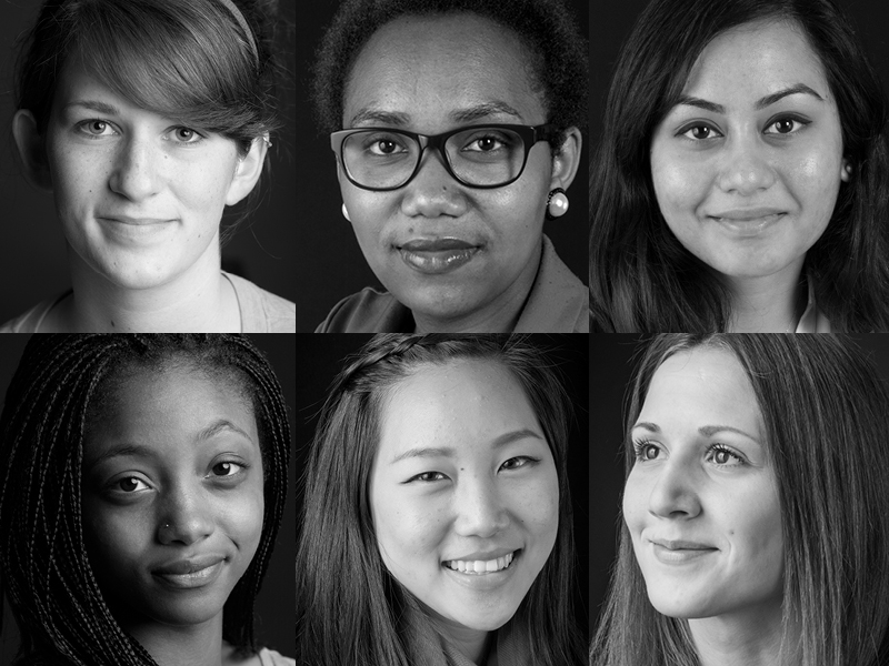 Some of the faces of Smith's Women for the World campaign.