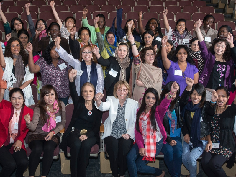 Large group photo of delegates to this year's WPSP Institute
