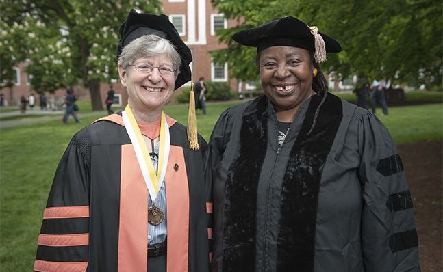 Martha Ackelsberg and Loretta Ross
