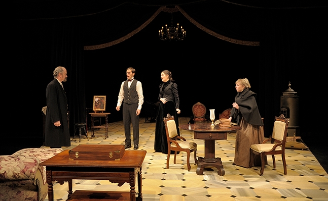 Performance of Hedda Gabler