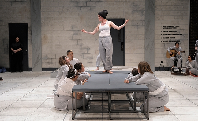 Performance of Marat Sade