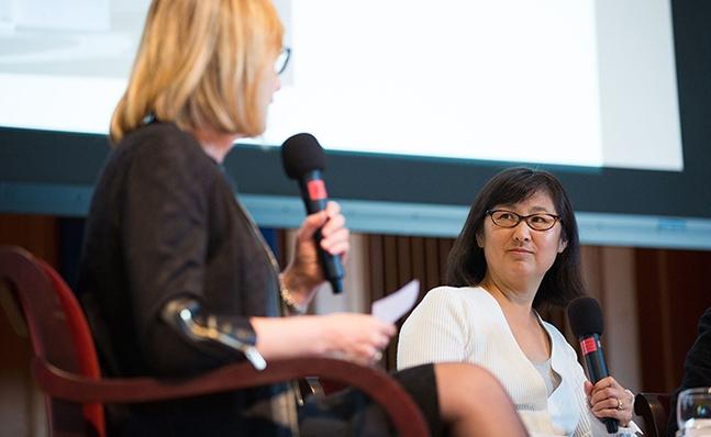 Kathleen McCartney and Maya Lin
