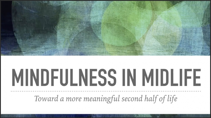 Video still of title screen from Mindfulness video