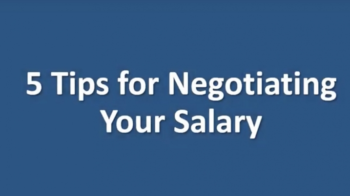Cover image for video about negotiating your salary