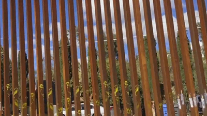Mexican-U.S. Border wall