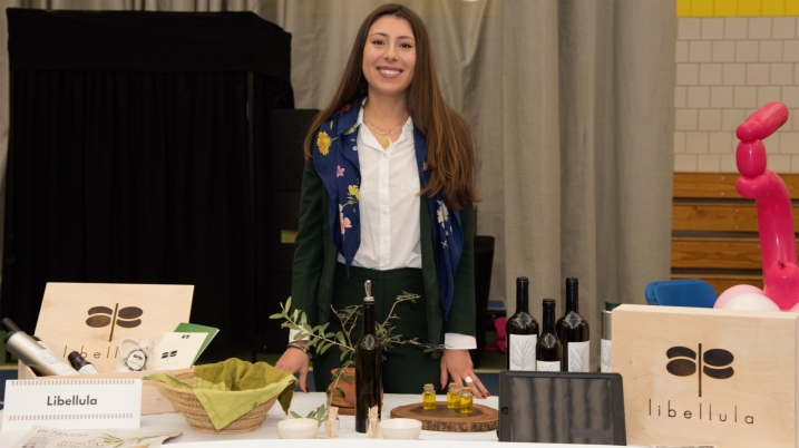 Libellula is a newly formed company, where consumers can adopt an olive tree.