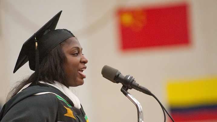 Commencement student address 2011