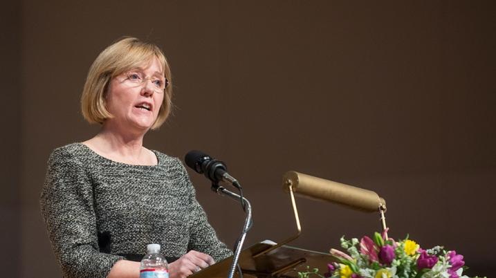President-Elect Kathleen McCartney
