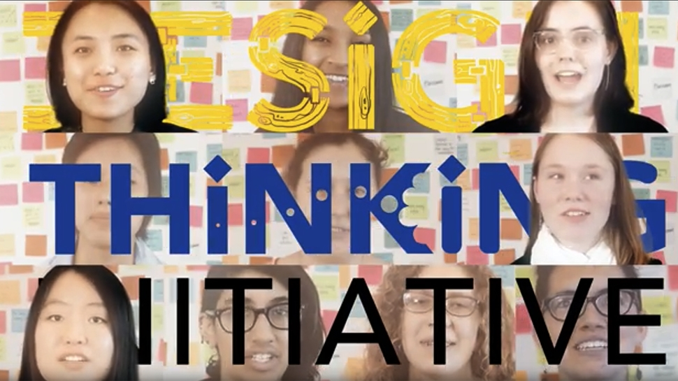 Still image from Design Thinking video