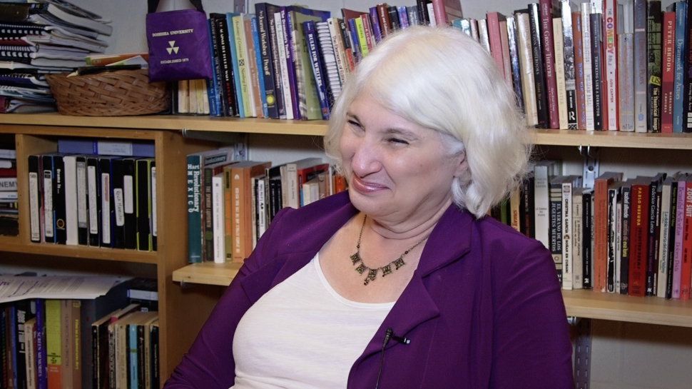 Professor of Theatre Ellen Kaplan