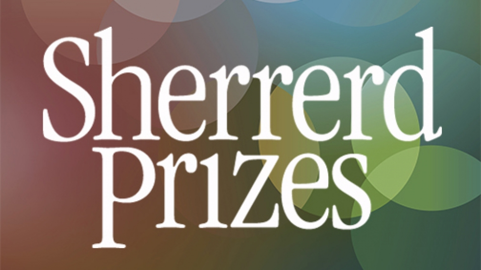 Logo for the Sherrerd Prizes