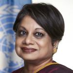 Portrait Radhika Coomaraswamy