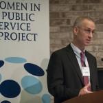 Professor Greg White offers opening remarks.