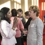 Rangita de Silva de Alwis and Mount Holyoke President Lynn Pasquerella