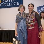 Karen Remmler (left) with Shabnam Baloch